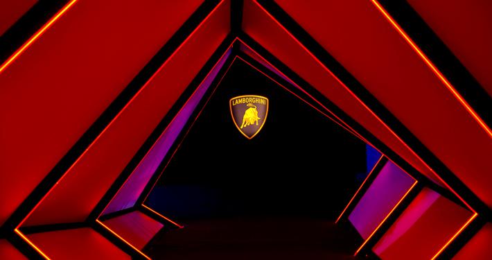 Groupe Schumacher - Lamborghini Opening à Puteaux
